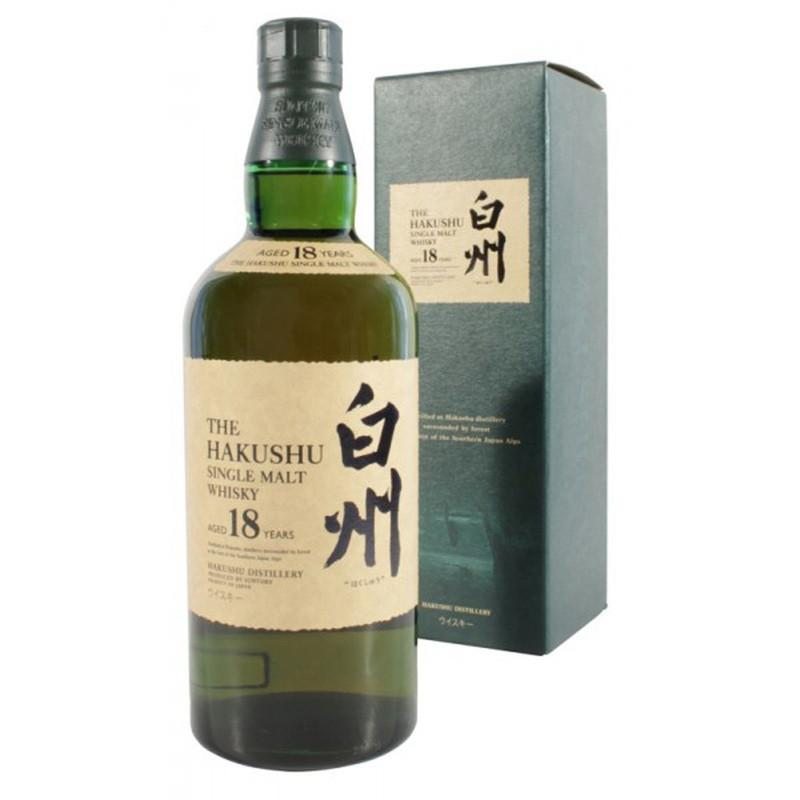 Hakushu 18 Years - The Whisky Shop Singapore