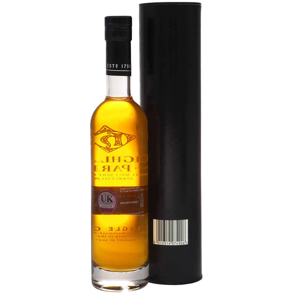 Highland Park 1974 33 Years - Ambassador Cask #3 - The Whisky Shop Singapore