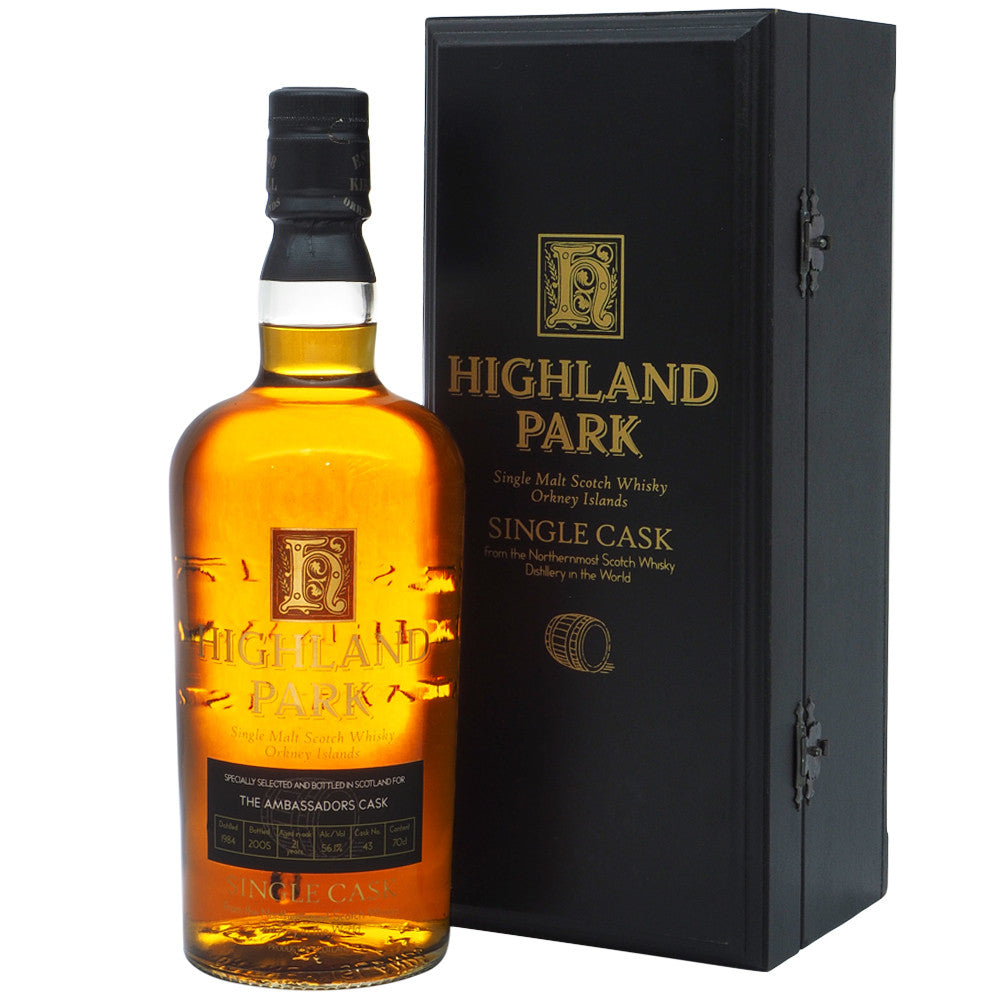 Highland Park 1984 21 Years - Ambassador Cask #1 - The Whisky Shop Singapore