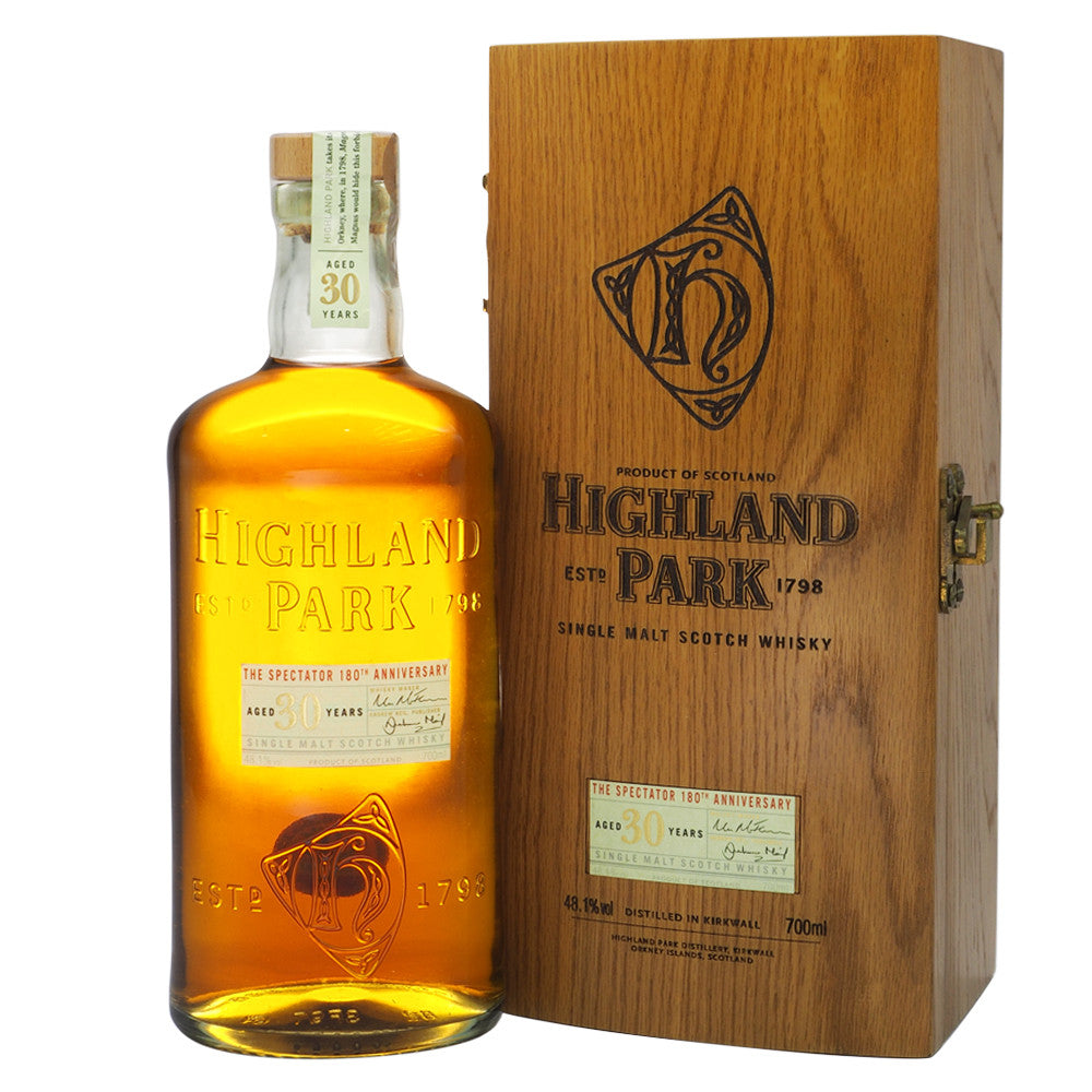Highland Park 30 Years - 180th Anniversary of The Spectator Magazine - The Whisky Shop Singapore