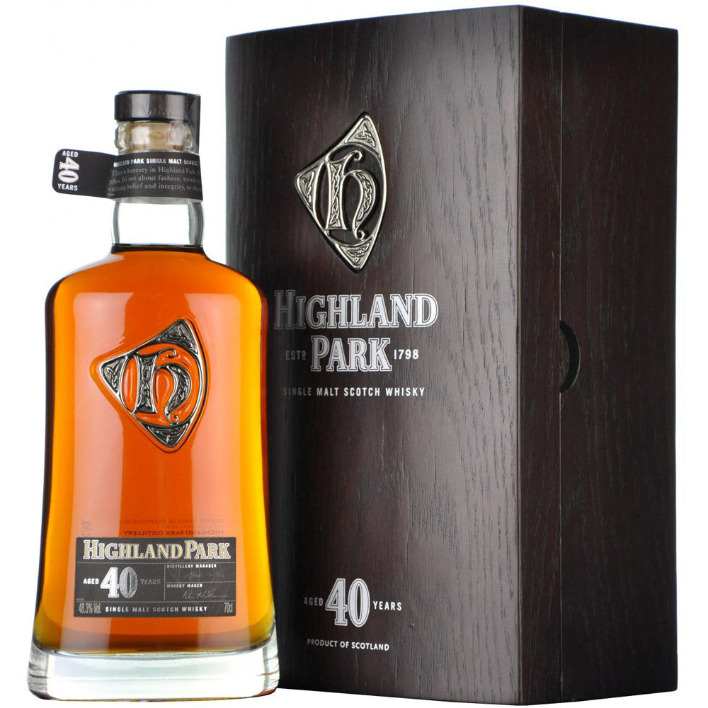 Highland Park 40 Years - The Whisky Shop Singapore