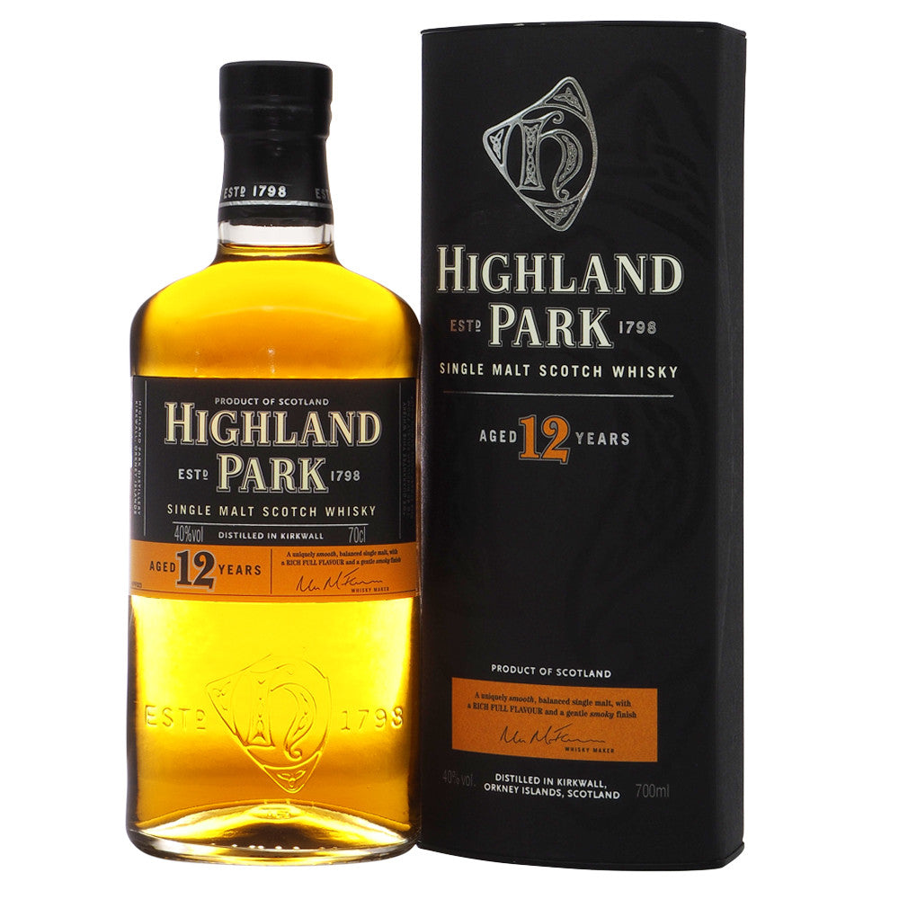 Highland Park 12 Years - The Whisky Shop Singapore