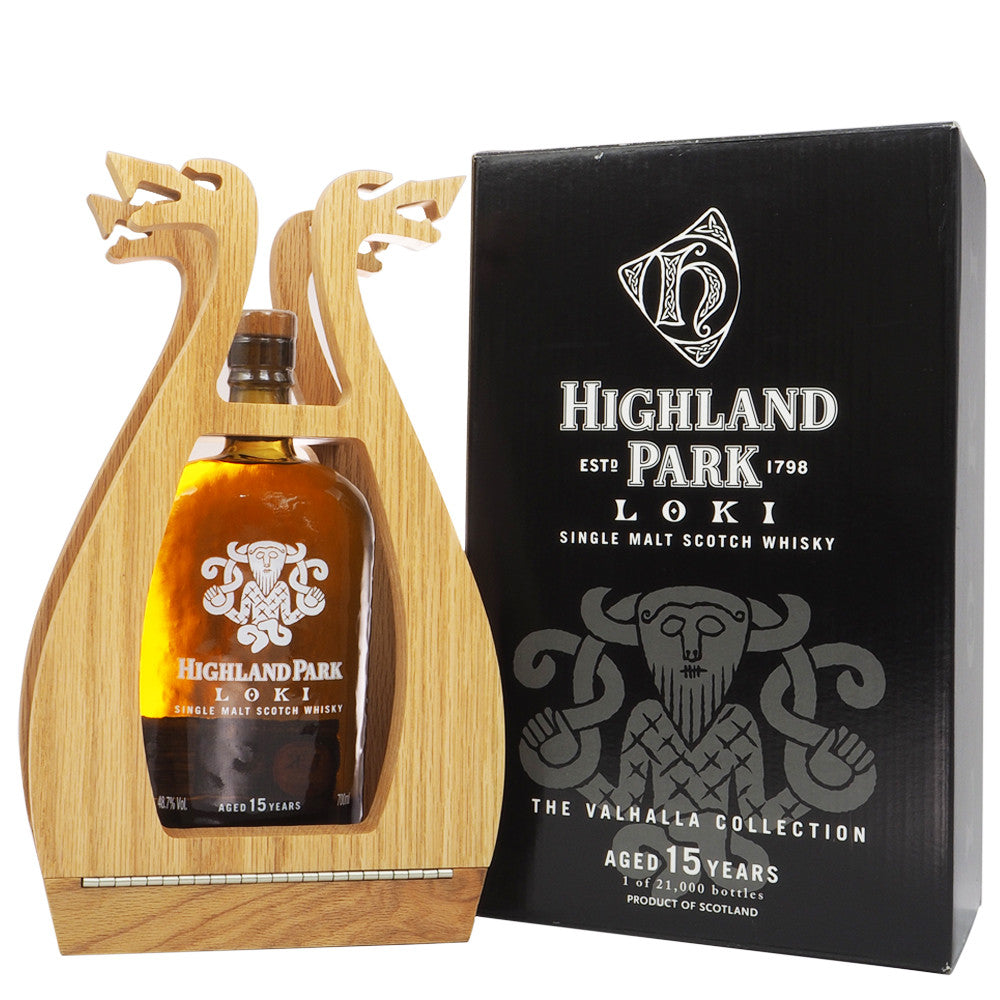 Highland Park 15 Years Valhalla Collection - Loki - The Whisky Shop Singapore