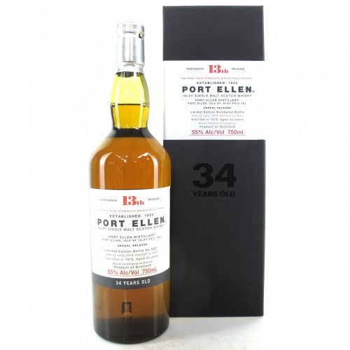 Port Ellen 13th Annual Release 1978 34 Years Old (2013) - The Whisky Shop Singapore