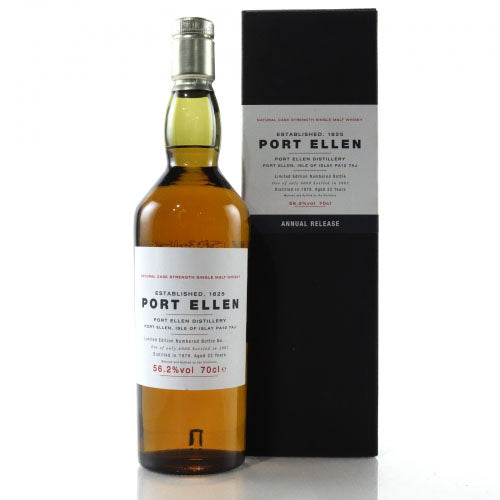 Port Ellen 1st Annual Release 1979 22 Years Old (2001) - The Whisky Shop Singapore