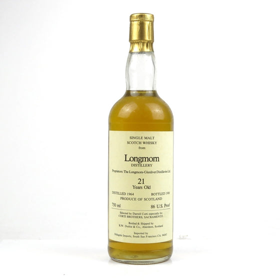Longmorn 1964 21 Years Duthie Corti Brothers - The Whisky Shop Singapore