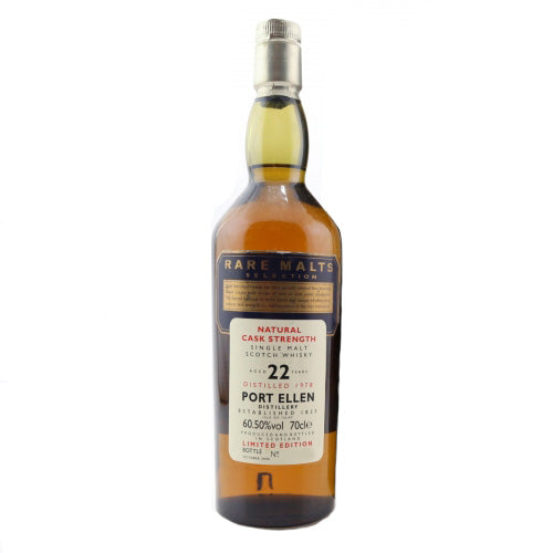 Port Ellen 1978 22 Years - Rare Malts Selection - The Whisky Shop Singapore