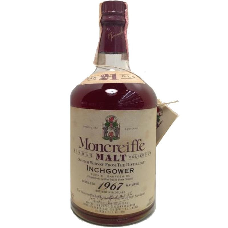 Inchgower 1967 21 Years Moncreiffe - The Whisky Shop Singapore