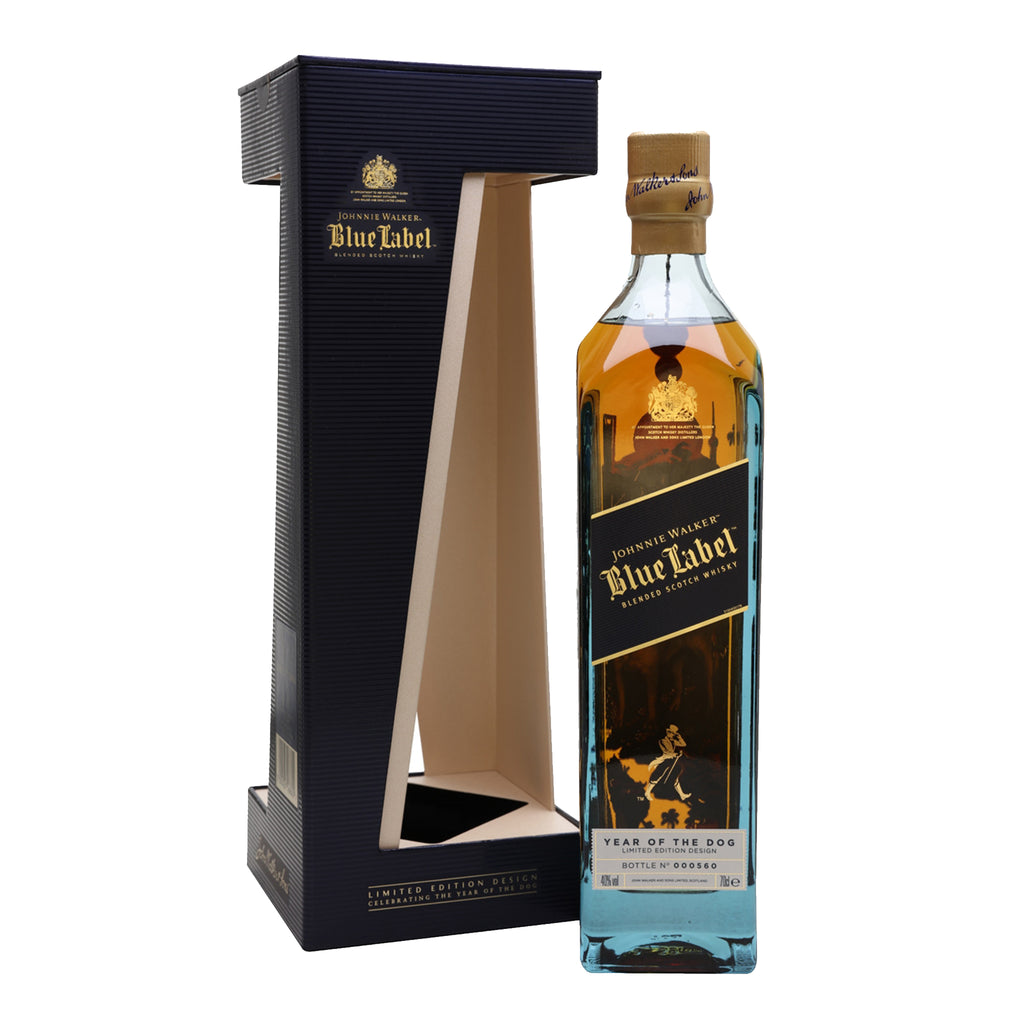 Johnnie Walker Blue Label - Year of the Dog (1L) - The Whisky Shop Singapore