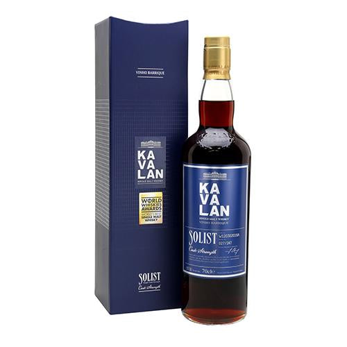 Kavalan Solist Vinho Barrique PLUS FREE whisky bible
