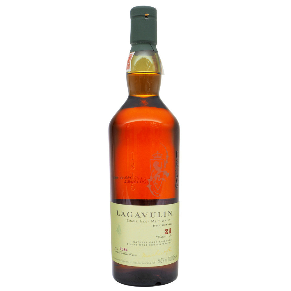 Lagavulin 1985 21 Years (Bot. 2007) - Serge's Favourite Lagavulin #1084 - The Whisky Shop Singapore