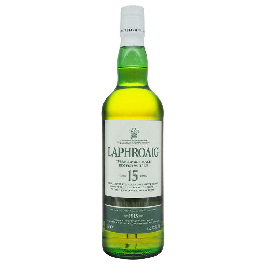 Laphroaig 15 Years 200th Anniversary - The Whisky Shop Singapore