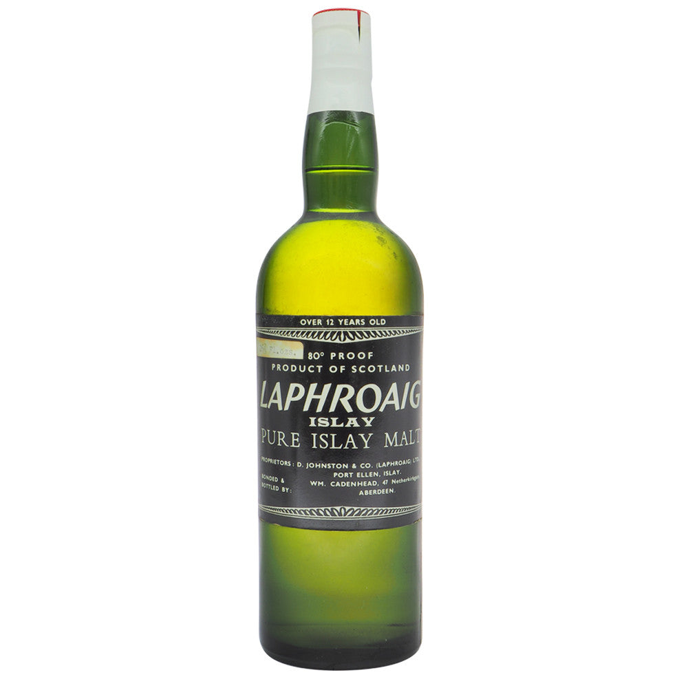 Laphroaig 1958 12 Years Cadenhead - The Whisky Shop Singapore