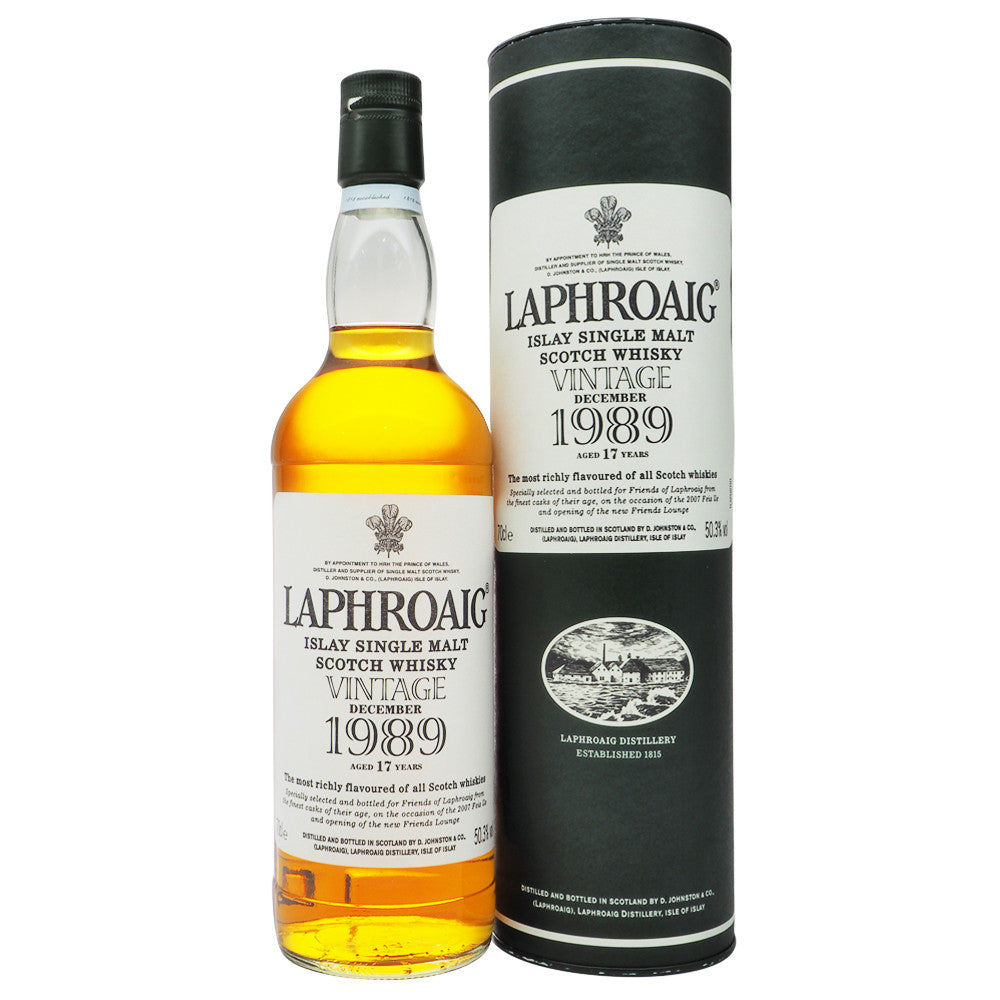 Laphroaig 1989 17 Years - Feis Ile 2007 - The Whisky Shop Singapore