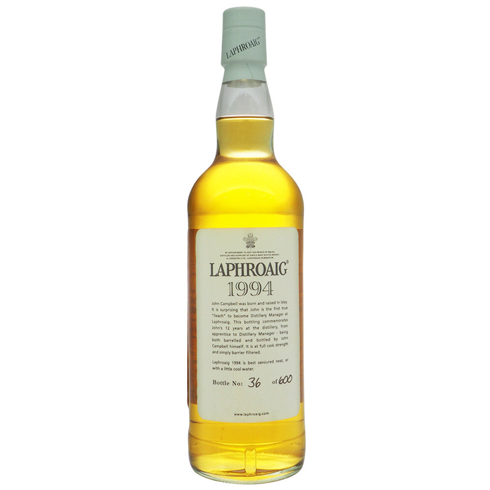 Laphroaig 1994 12 Years Feis Ile 2006 - The Whisky Shop Singapore