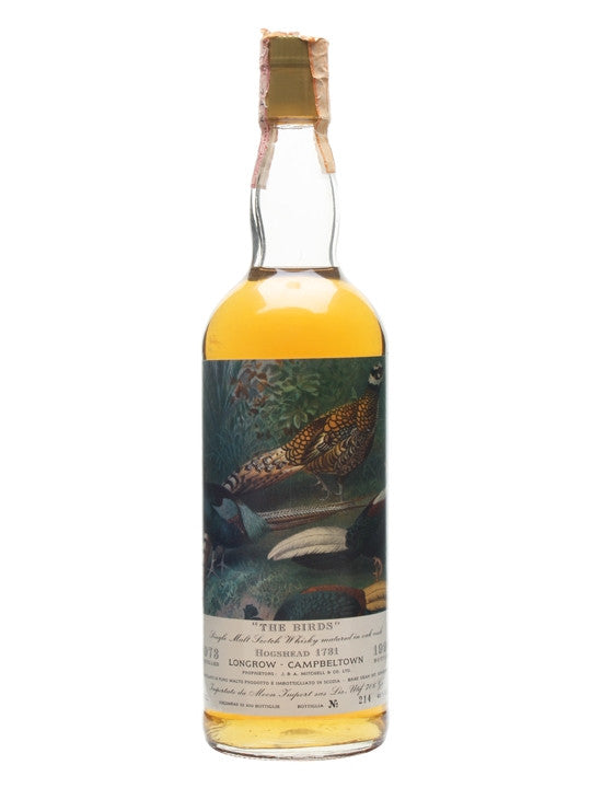 Longrow 1973 Moon Import - The Birds - The Whisky Shop Singapore