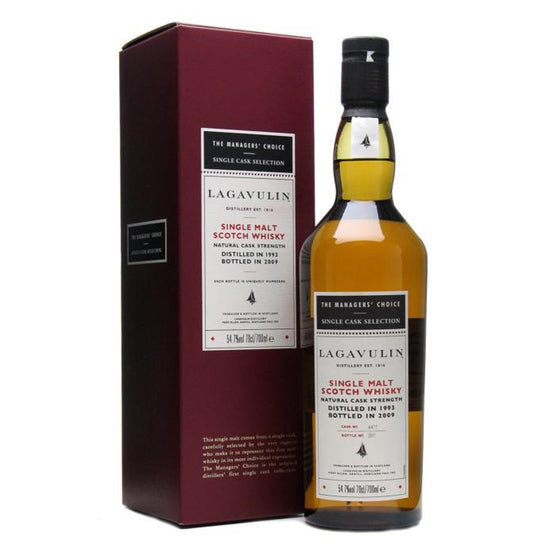 Lagavulin 1993 15 Years The Managers' Choice - The Whisky Shop Singapore