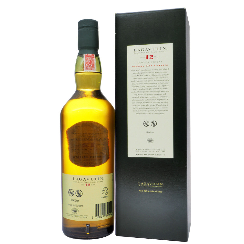 Lagavulin 12 Years - 15th Special Release (Bot. 2015) - The Whisky Shop Singapore
