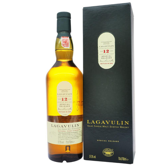 Lagavulin 12 Years - 6th Special Release (Bot. 2006) - The Whisky Shop Singapore