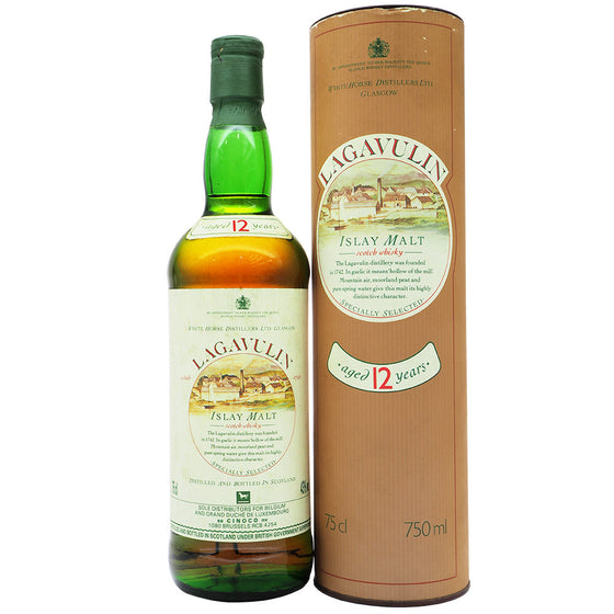 Lagavulin 12 Years White Horse Distillers Ltd - The Whisky Shop Singapore
