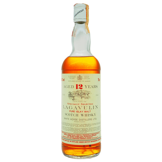Lagavulin 12 Years White Horse Distillers Ltd - Carpano Import - The Whisky Shop Singapore