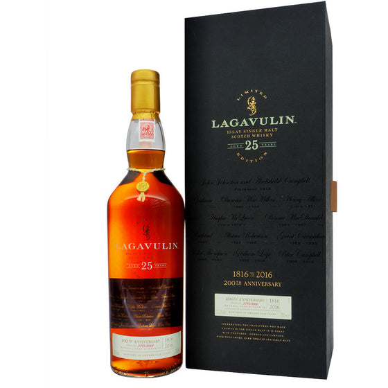 Lagavulin 25 Years Bicentenary Edition Feis Ile 2016 - The Whisky Shop Singapore