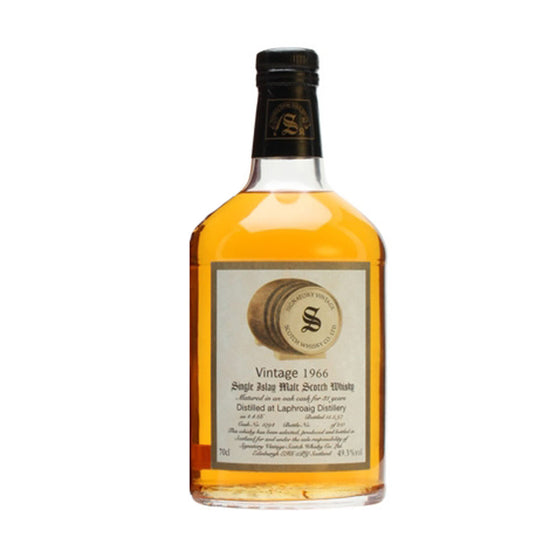 Laphroaig 1966 31 Years Signatory Vintage Cask 1094 - The Whisky Shop Singapore