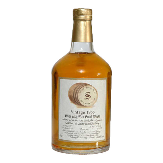 Laphroaig 1966 30 Years Signatory Vintage Cask 559 - The Whisky Shop Singapore