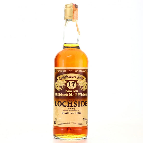 Lochside 1965 17 Years Gordon & MacPhail Connoisseurs Choice - The Whisky Shop Singapore