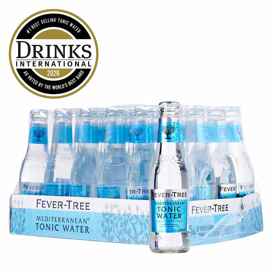 Fevertree Mediterranean Mixer 24 x 200ml - The Whisky Shop Singapore