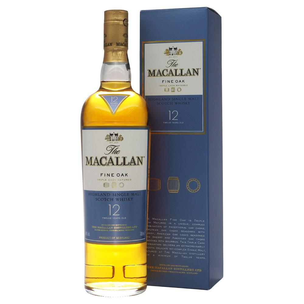Macallan 12 Years Fine Oak - The Whisky Shop Singapore