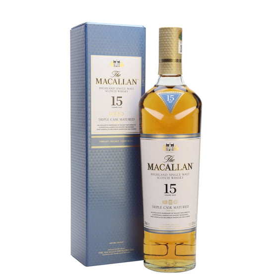 Macallan 15 Years Old Triple Cask