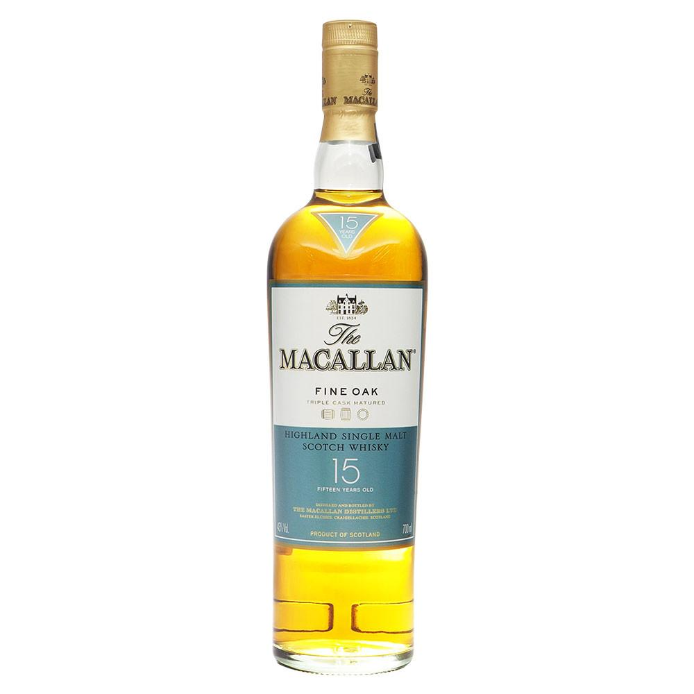 Macallan 15 Years Fine Oak - The Whisky Shop Singapore