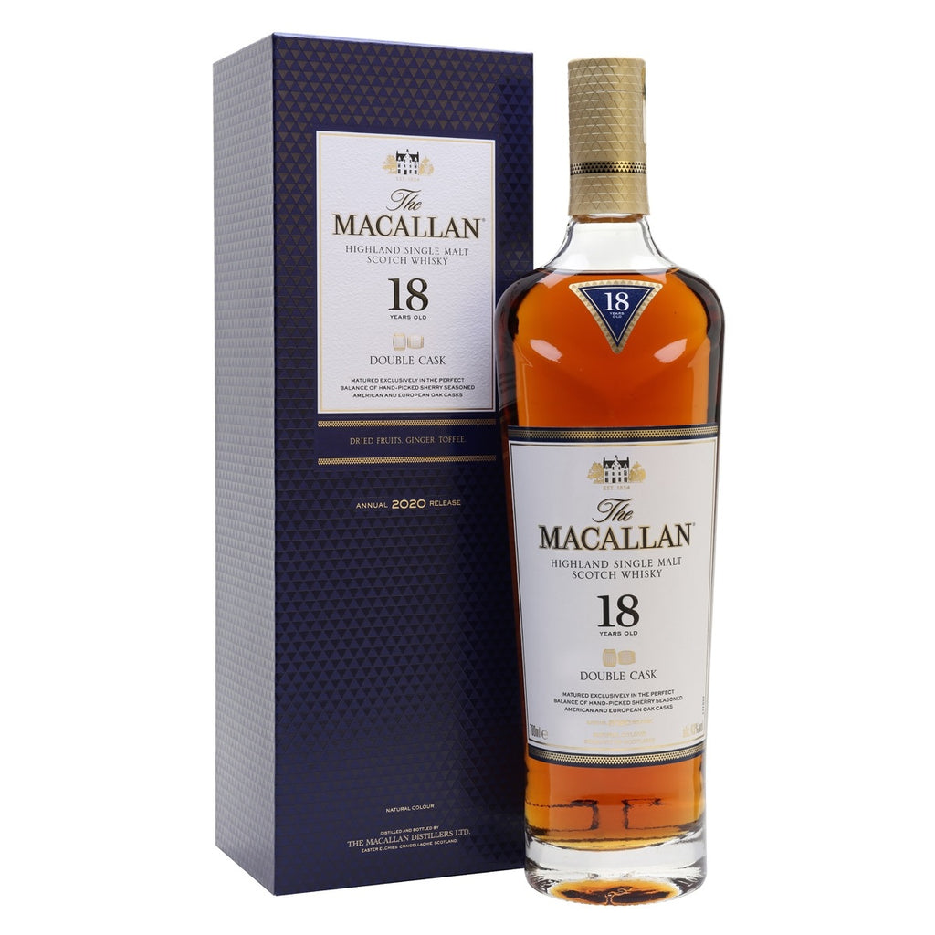 Macallan 18 Years Old Double Cask 2020 Release