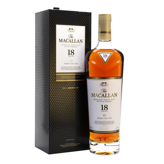 Macallan 18 Years Sherry Oak - 2019 Annual Release