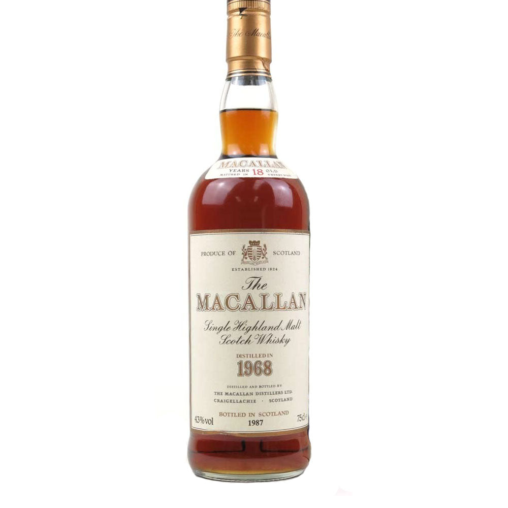 Macallan 1968 18 Year - The Whisky Shop Singapore