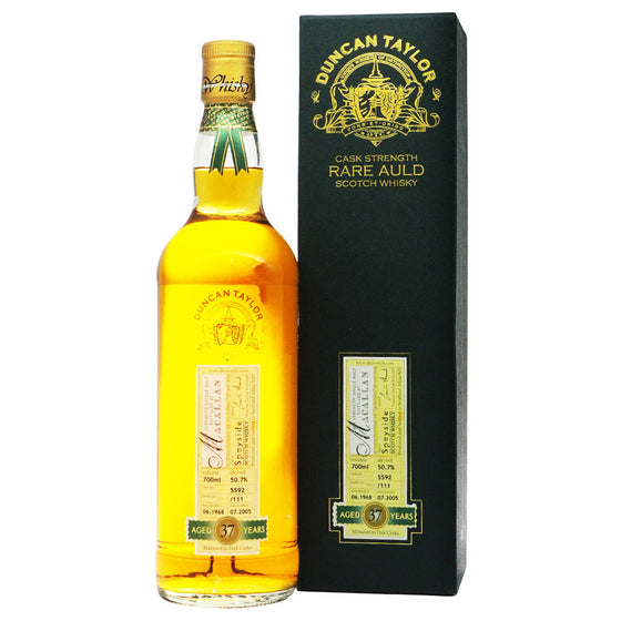 Macallan 1968 37 Years Duncan Taylor - Rare Auld - The Whisky Shop Singapore