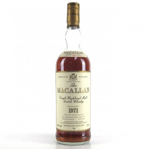 Macallan 1971 18 Year Old - The Whisky Shop Singapore