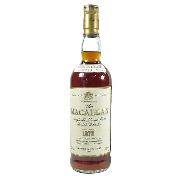 Macallan 1972 18 Years - The Whisky Shop Singapore