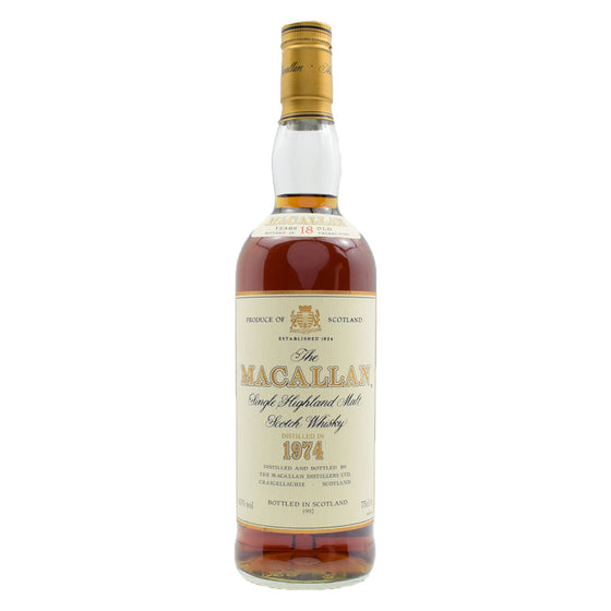 Macallan 1974 18 Years - The Whisky Shop Singapore