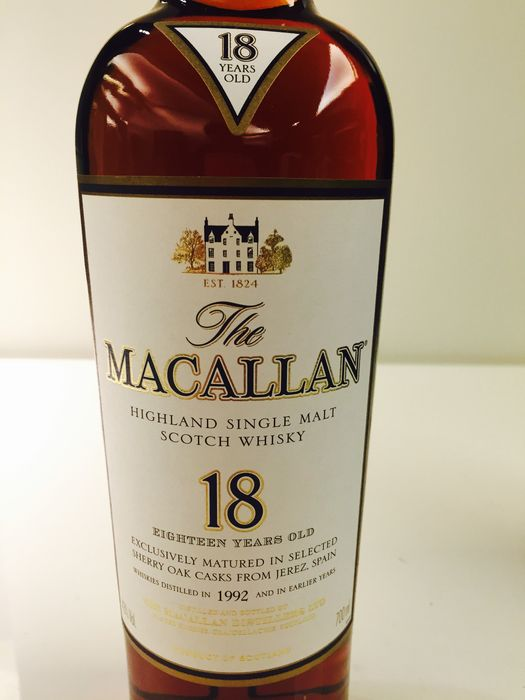 Macallan 1992 18 Years Sherry Oak - The Whisky Shop Singapore