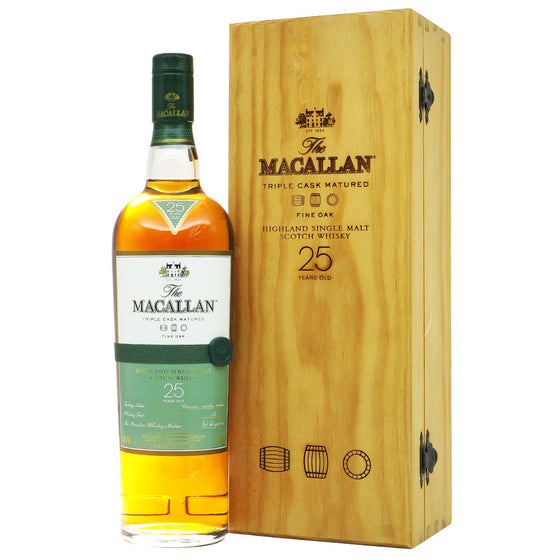 Macallan 25 Years Fine Oak Triple Cask Matured - The Whisky Shop Singapore