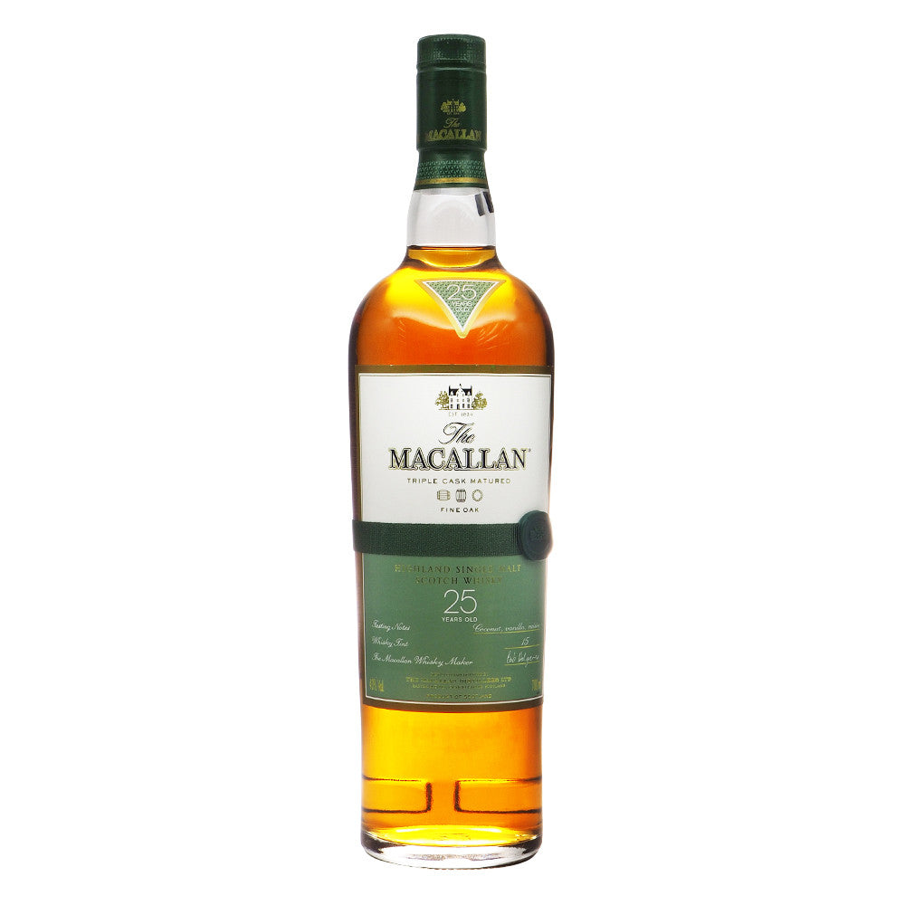 Macallan 25 Years Fine Oak - Triple Cask Matured - The Whisky Shop Singapore