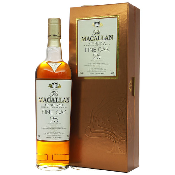Macallan 25 Years Fine Oak - The Whisky Shop Singapore