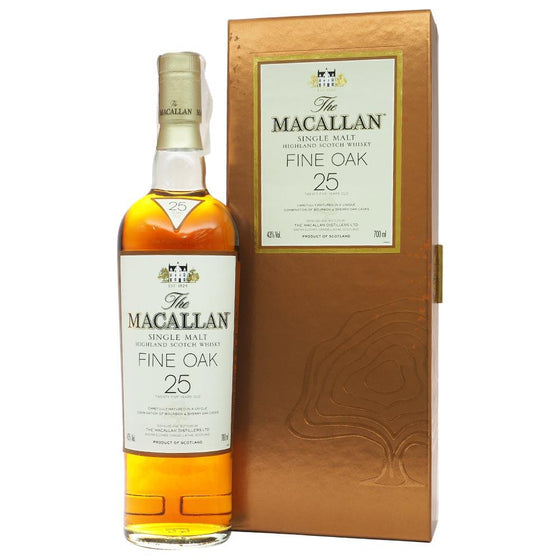 Macallan 25 Years Fine Oak - Bottle 2 | The Whisky Shop Singapore