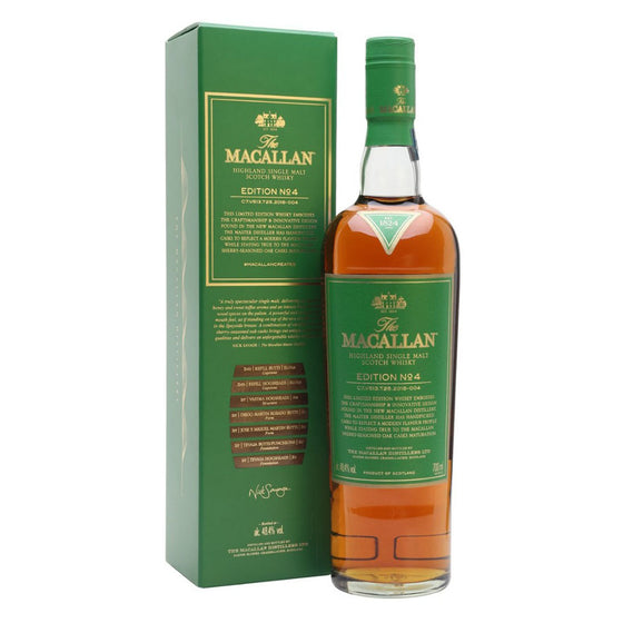 Macallan Edition No. 4 with Free Jim Murray Whisky Bible