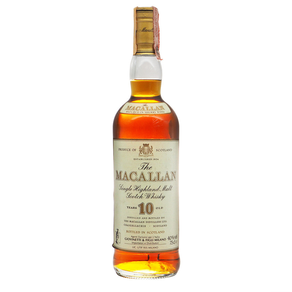 Macallan 10 Years - Giovinetti - The Whisky Shop Singapore