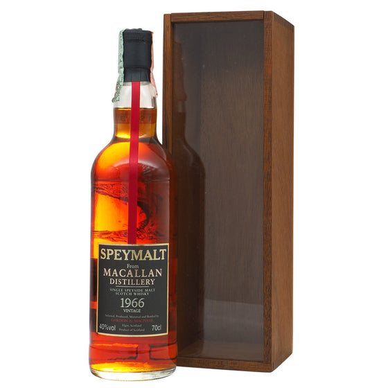 Macallan 1966 Gordon & MacPhail - Speymalt (Bot. 1998) - The Whisky Shop Singapore