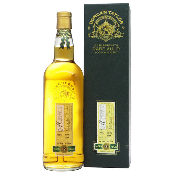 Macallan 1968 35 Years Duncan Taylor - Rare Auld - The Whisky Shop Singapore