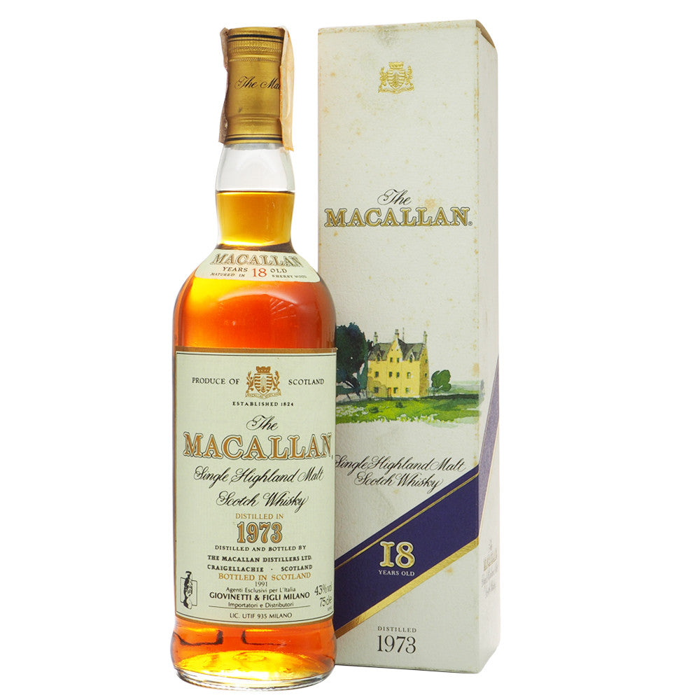 Macallan 1973 18 Years - Giovinetti - The Whisky Shop Singapore